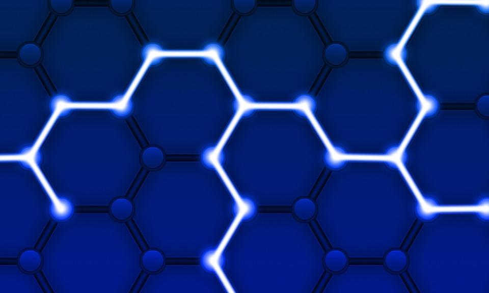 Blockchain, ネットワーク, ビジネス, 技術, E ビジネス, 暗号, コマース