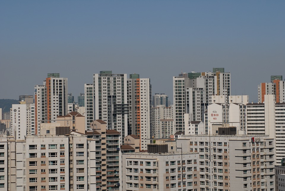 대한민국, 한국, 서울, 아파트, 도시, 건물, 빌딩, 많은, 높은, 건축, 건축물, 주거지