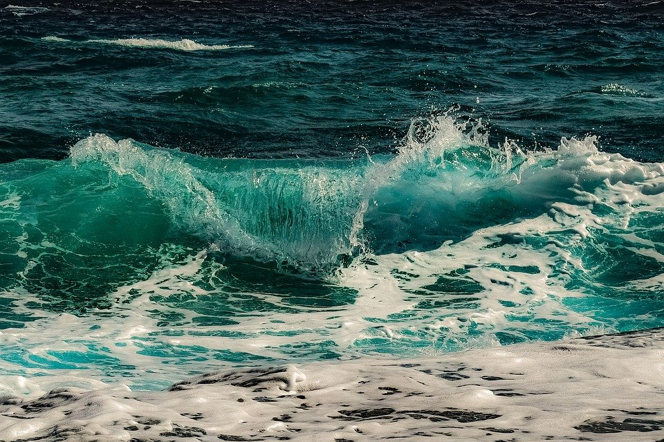 Sea, Ocean, Waves, Seascape, Beach, Coast, Coastline