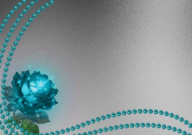 Beads Rose Background 183 Free Image On Pixabay