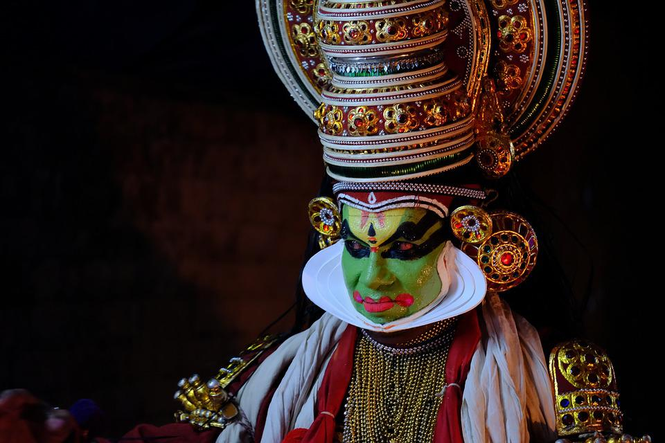 Performance de Kathakali