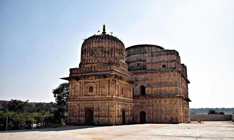 Cenotaph, Orchha, Madhya Pradesh, Sixteen Century