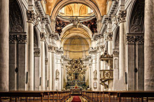 Cathedral, Sicily, Church, Italy