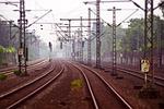 railway tracks, railway, railroad tracks