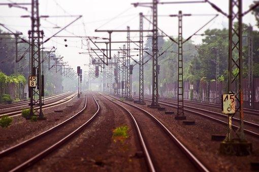 Vías Férreas, Ferrocarril, Vías Del Tren