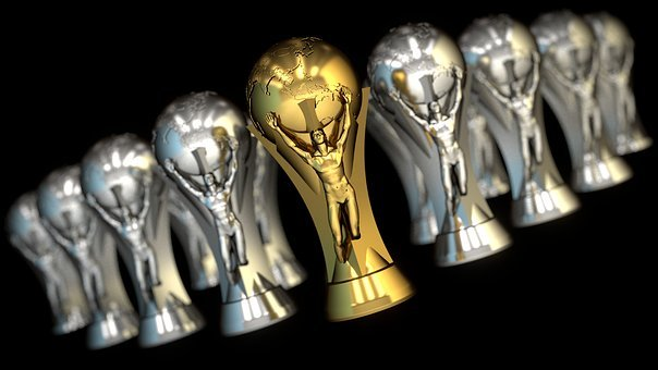 Trophy, Football, Cup, Championship