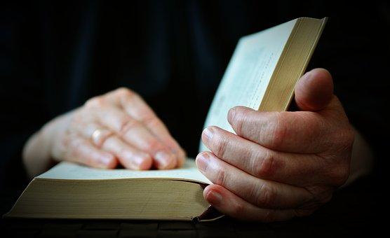 Hands, Book, Read, Open Book, Bible
