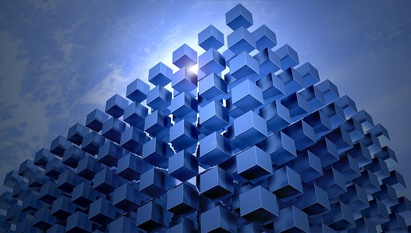 Cube, Cubes, Architecture, Abstract