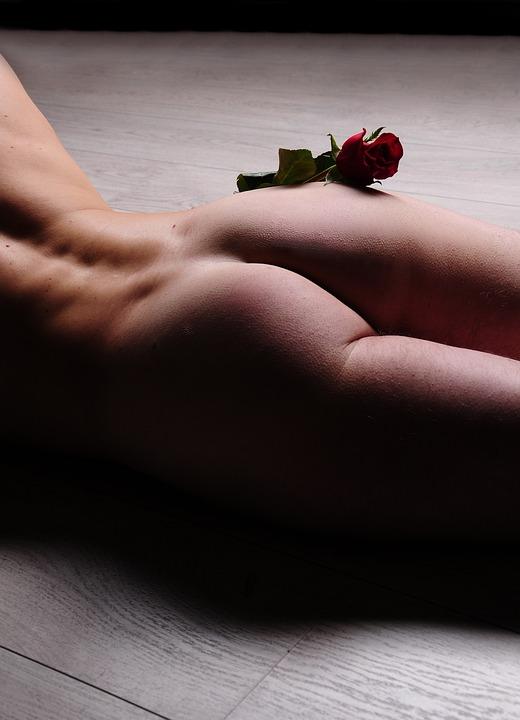 Sexy nackt hintern