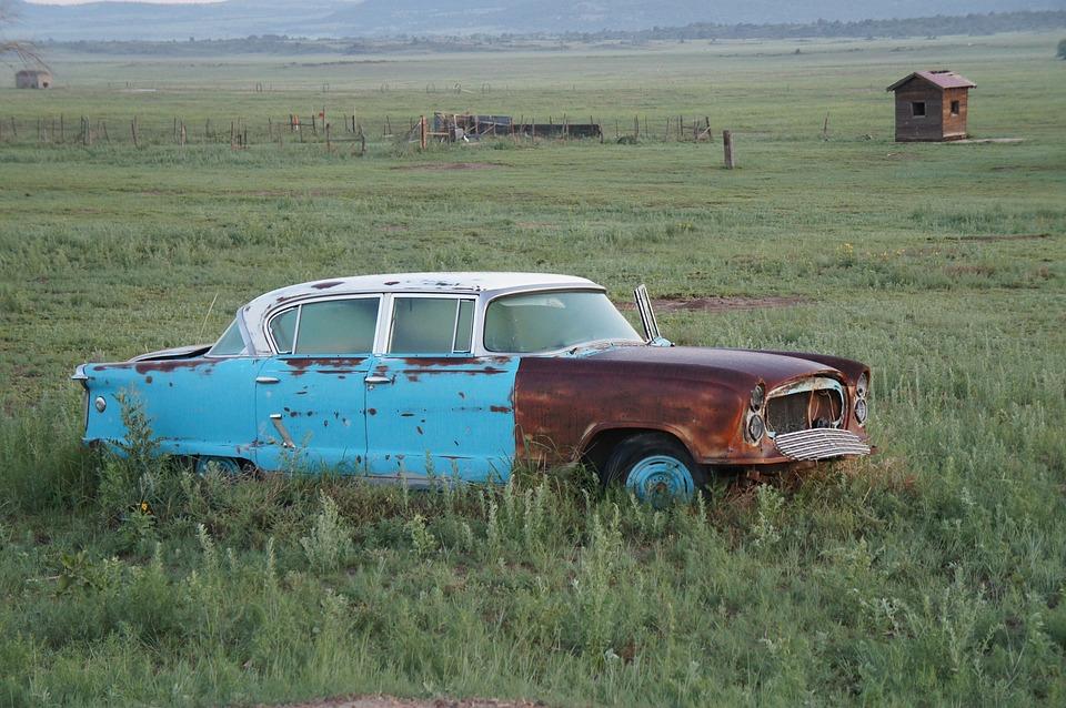 Abandoned Car Old Wreck - Free photo on Pixabay