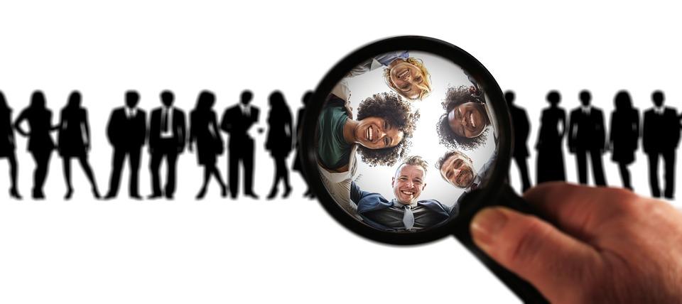 ターゲット グループ, 広告, バイヤー, フォーカル ポイント, 顧客, フォーカス, クライアント