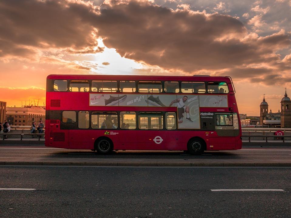 London, Großbritannien, Bus