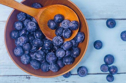 Blueberry, Blueberries, Blue, Fruit