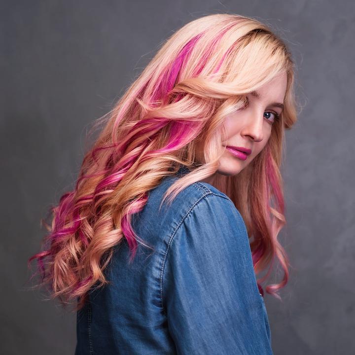 Madchen Frisur Blondine Kostenloses Foto Auf Pixabay