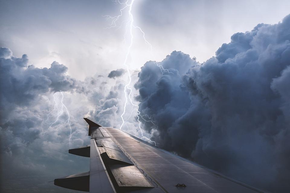 Aeromobili, Volano, Cielo, Nuvola, Natura, Tempesta