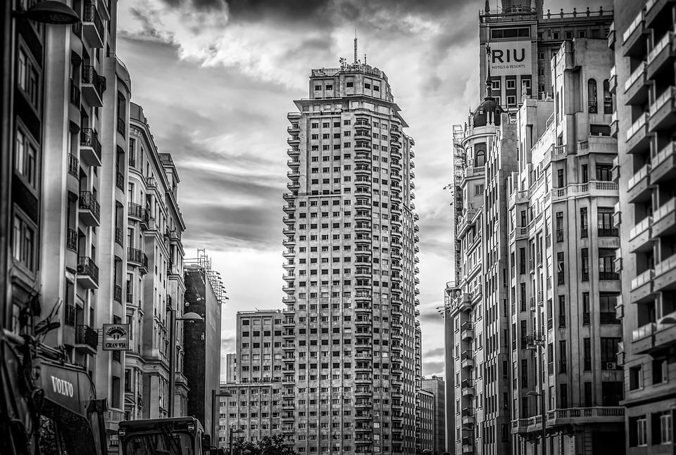 Rascacielos Madrid Paisaje Urbano - Foto gratis en Pixabay
