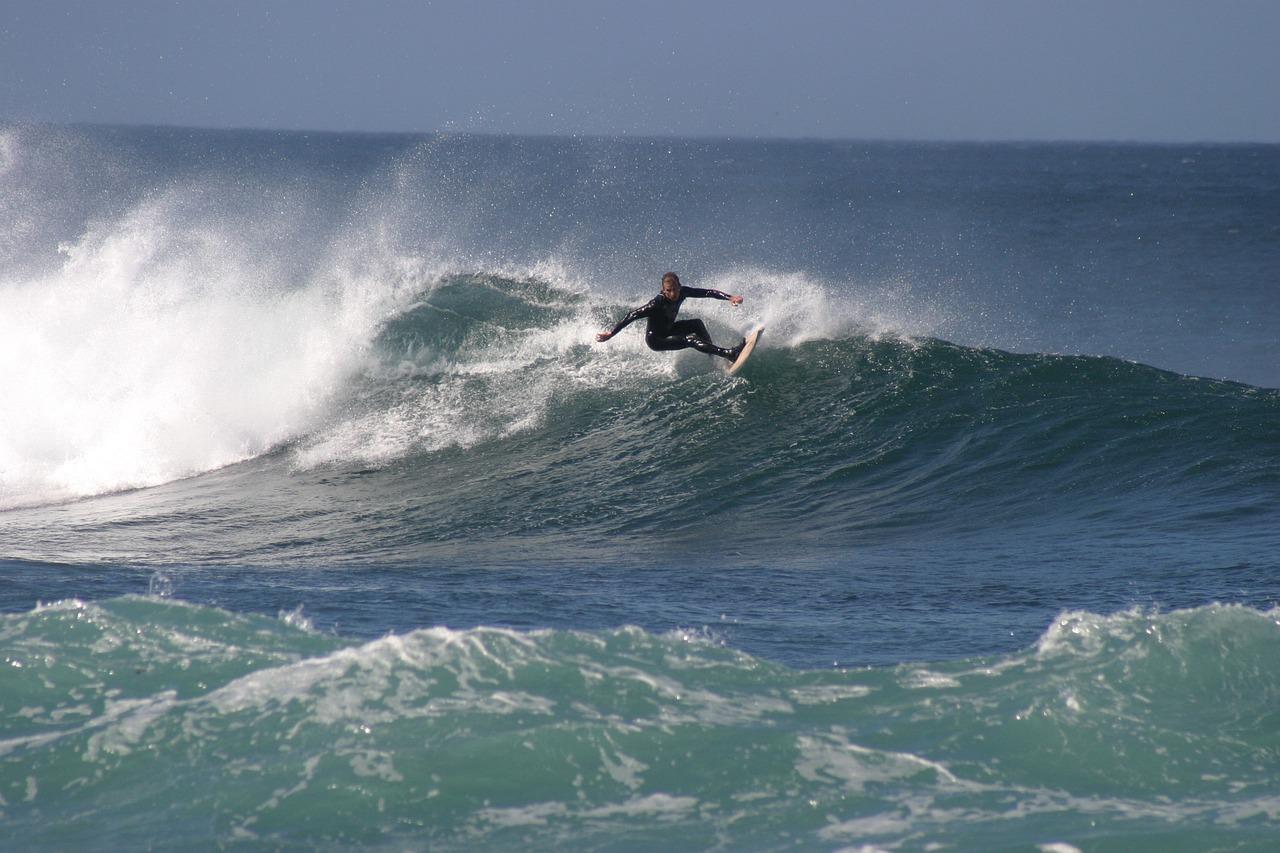 для любителей фото волна серфинг французский