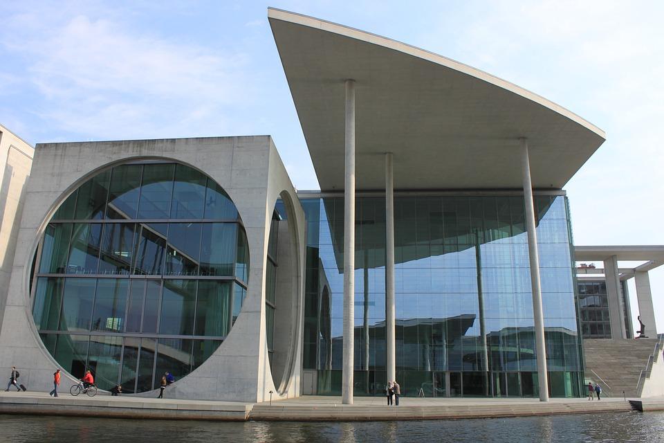 Berlin Moderne Architektur Gebaude Kostenloses Foto Auf Pixabay
