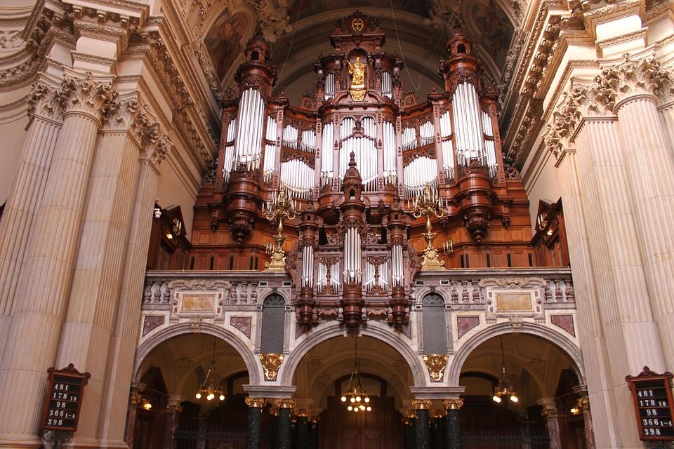 Berliner Dom Orgel Berlin Kostenloses Foto Auf Pixabay