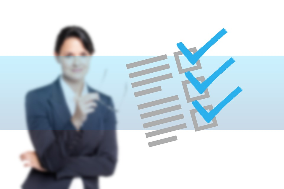 Negocios, Empresaria, Gancho, Marca De Verificación