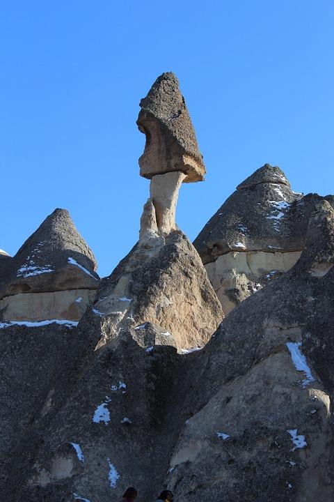 Les Cheminees De Fee Cappadoce Photo Gratuite Sur Pixabay