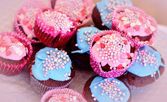 Muffins, Kitchens, Cupcakes