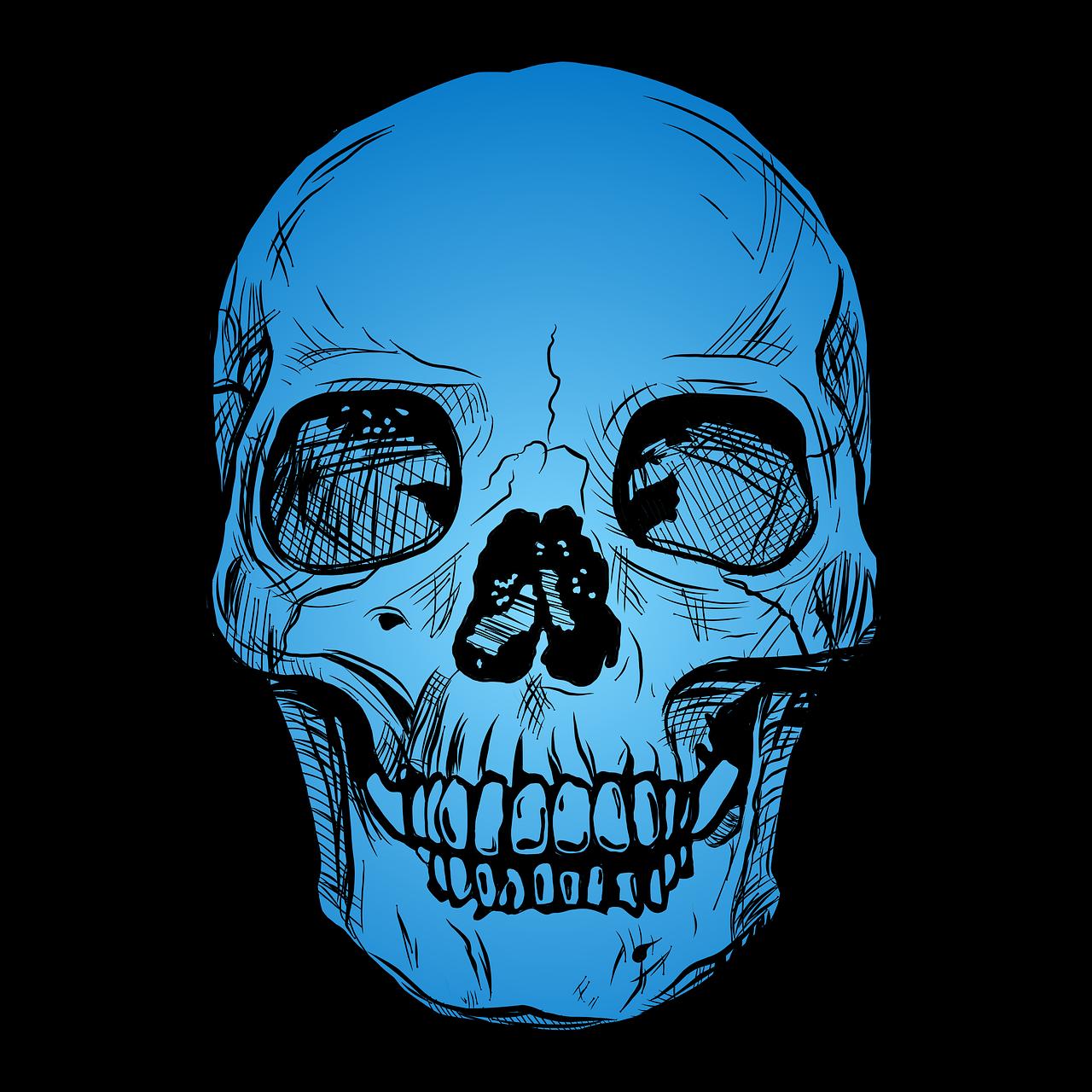 родиной картинки череп на синем фоне позволяйте