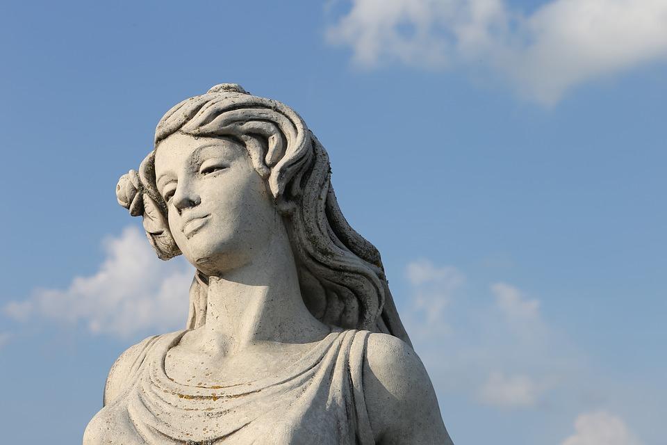 Frau Statue Skulptur Stein Kostenloses Foto Auf Pixabay