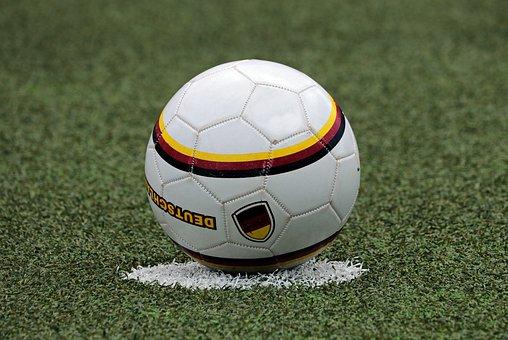 Futebol, Começo, Centro, Bola, Esporte