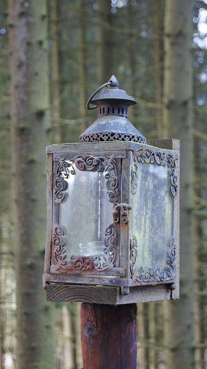 Svært Lanterne Lys Lampe Jern - Gratis foto på Pixabay KC-01