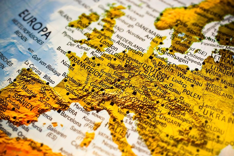 Landkarte Deutsch.Landkarte Europa Karte Kostenloses Foto Auf Pixabay
