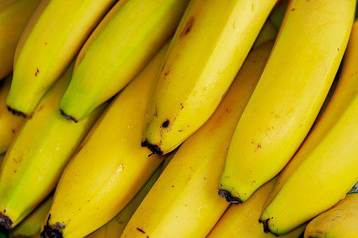Bananas, Tropical Fruits, Fruit, Exotic