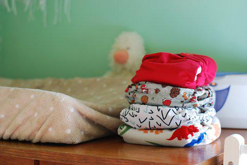 Diapers, Cloth, Reusable, Baby, Newborn