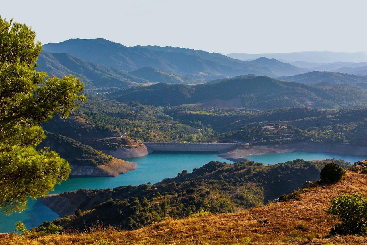душевая природа реки испании фото забор камня дерева