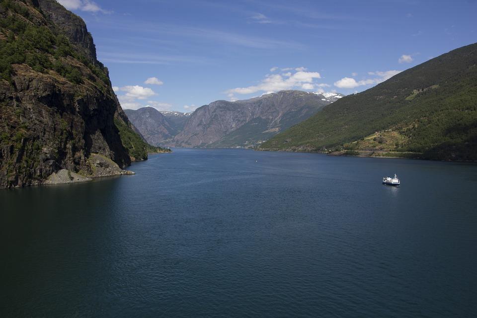 Fjord Norwegen Flam Kostenloses Foto Auf Pixabay