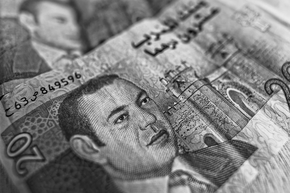 Dirham, モロッコの通貨, 紙幣, お金, 現金, 20Dirham, Al-Magrib