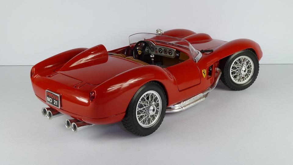 Ferrari 250 Testa Rossa 1957 Cabrio Convertible