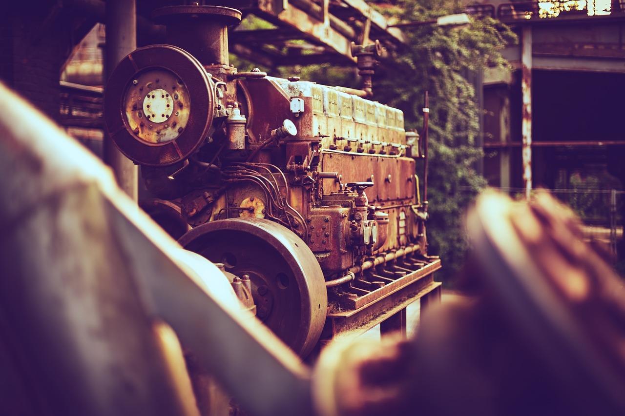 Двигатель. Завод