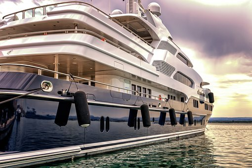 Boat, Yacht, Port, Luxury, Vacations