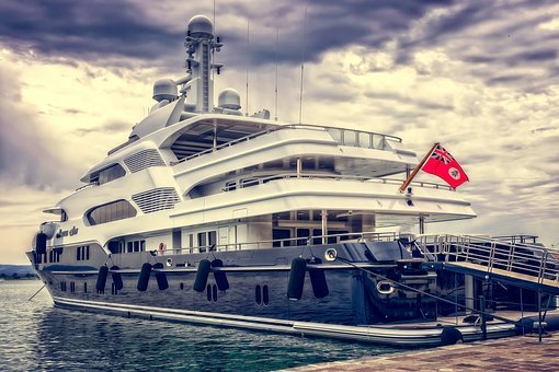 Yacht, Ship, Boat, Luxury, Port