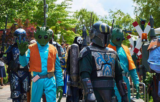 Legoland, Lego, Star Wars, Parade