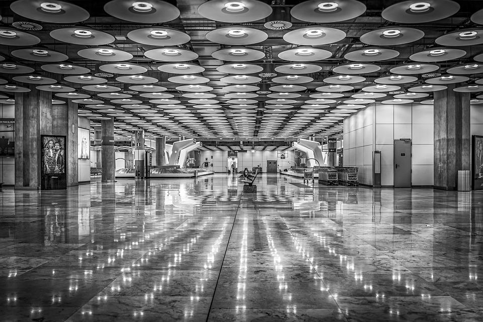 Aeropuerto, Madrid, De Viaje, España, Barajas