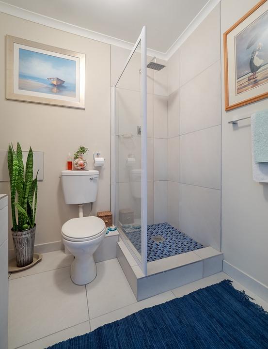 Bathroom Interior Home Shower Bath Toilet Sink