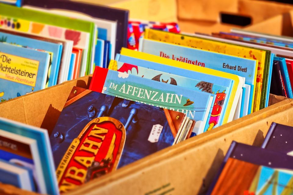 Books, Literature, Read, Worn, Paper, Stack, Close Up
