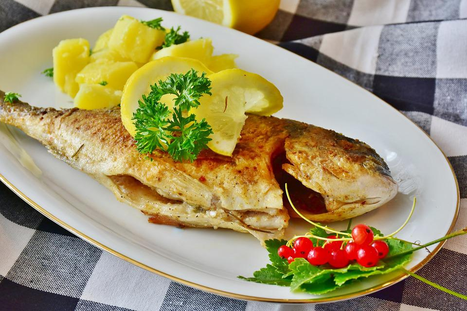 Fish served in seychelles