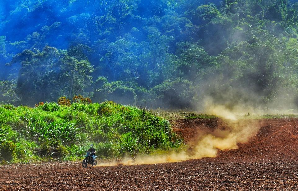 Motocross, Góry, Belize, Brud Rower, Sporty Motorowe