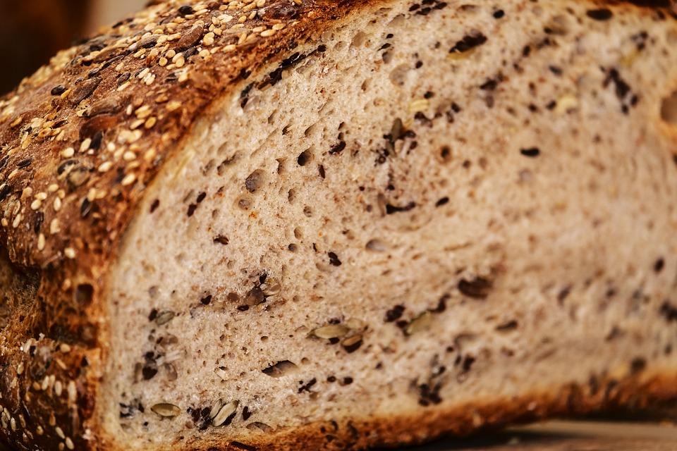 Хлеб, Multigrain Хлеб, Корочки Хлеба, Хрустящий, Свежий