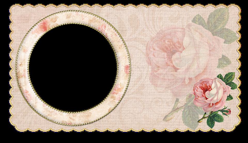 Vendimia Marco De Fotos Rose Fondo · Imagen gratis en Pixabay