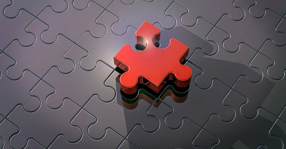 パズル, パズルのピース, 接続, メモリ カードをカバー, 一緒に, 一緒に縫い合わせ, 3 D
