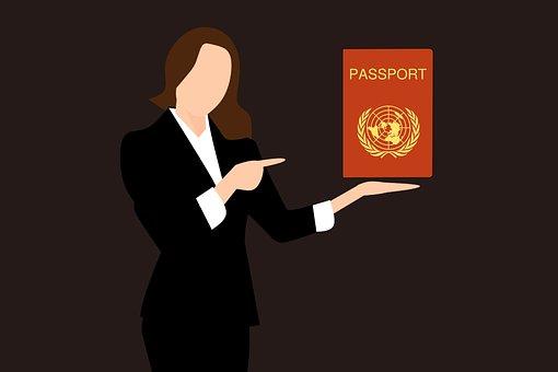 スタンプパスポート, 旅行, パスポートカバー, 搭乗券, ビザ